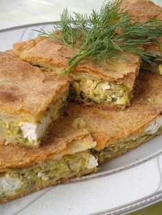 Spanakopita, Sandwiches, Cheese Pies, Kiss The Cook, Greek Recipes, Empanadas, Taste Buds, Ethnic Recipes, Tart