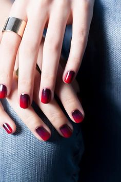 This Cherry Bomb Ombre nail tutorial from OPI is perfect for the holidays, and has me OBSESSED with ombre nails. This might be my first-ever foray into the world of nail art!
