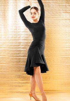 Chrisanne Clover Cosmo Latin Skirt   Dancesport Fashion @ DanceShopper.com
