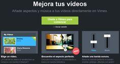 Edita tus videos con el Enhancer de Vimeo