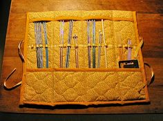 The Craft Tutor: Craft a Knitting Needle Case