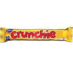 Cadbury Crunchie Bars: 24-Piece Box