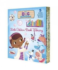 Doc McStuffins Little Golden Book Library (Hardcover)