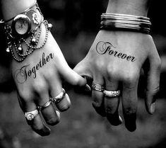 Cute Couple Tattoos 38