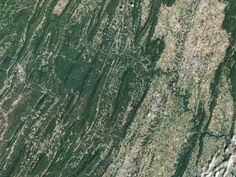 Paw Paw Bends The Operational Land Imager (OLI) on Landsat 8 captured this image of the Potomac River and canal on September 27 2016. The image shows the stretch between Hancock and Cumberland Marylandabout 97 kilometers (60 miles) if you were to hike or bike along the towpath between these two towns. West Virginia is south of the river.