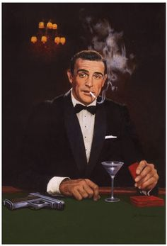 James Bond  Dr.No  Robert McGinnis  Comic Art