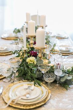 Greenery Wedding Centerpiece