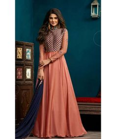 6330b1934b2 The 361 best anarkali images on Pinterest in 2018