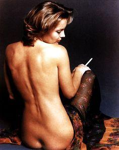 Romy Schneider, by Eva Sereny, Rome, 1974