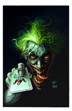 DC Joker by IzzatAL.deviantart.com on @deviantART