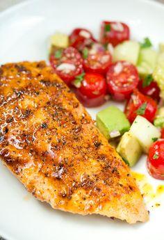 Honey Chipotle Chicken | www.deliciousmeetshealthy.com