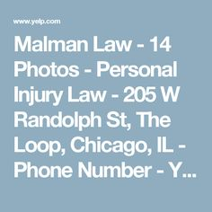 Malman Law - 14 Photos - Personal Injury Law - 205 W Randolph St, The Loop, Chicago, IL - Phone Number - Yelp