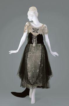 Evening Dress  1916-1918  Cincinnati Art Museum