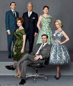 Mad Men. One of my fave new shows. So good!