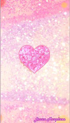Glitter Phone Wallpaper Sparkle Background Heart Pink Glittery Sparkling GlitterFondos