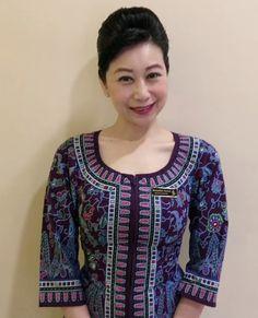 Singapore, Celebrity, Facebook, Blouse, Long Sleeve, Sleeves, Beautiful, Tops, Women