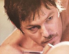 """""""Looking at your face across the room Everything else fades but me and you"""" Walking Dead Tv Series, Fear The Walking Dead, Murphy Macmanus, Tom Payne, Daryl Dixon, Norman Reedus, Man Alive, Life Inspiration, Man Crush"""