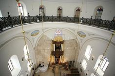 Hurva Synagogue Interior.