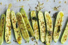 Cucumber Spears With Curry Leaves. By Jonathon Gregson. M&S Food Portraiture Category of the Pink Lady Food Photographer Of The Year 2015 entry. Waitrose Food, Madhur Jaffrey, Bill Granger, Ottolenghi, Curry Leaves, Base Foods, Zucchini, Brunch, Food And Drink
