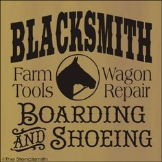 Blacksmith - boarding & shoeing