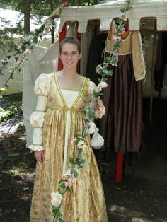 Pretty Dress at Tennessee Renaissance Festival
