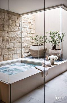 Spa Design, Deco Design, Bath Design, House Design, Design Trends, Design Ideas, Modern Design, Bathroom Spa, Bathroom Interior