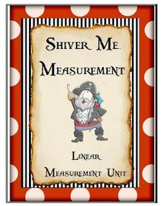 Linear measurement unit with free downloadable lesson to print- use with A New Coat for Anna math lesson