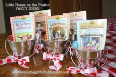 Pebbles and Piggytails: Little House on the Prairie Party