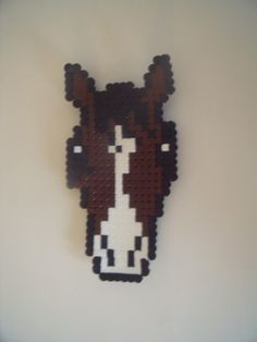 Horse hama beads by Thea A