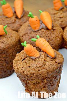 Easy Carrot Cupcake