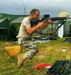 Harry Potter in the Army