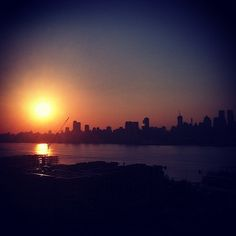 Sunrise over Manhattan - NYC #newyorkcityinspired