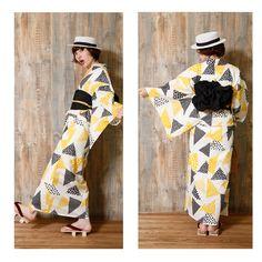 個性派着物と浴衣の和服さん ニコアンティーク 楽天 ゆかた ユカタ にこあんていーく Nico Antique Original(ニコアンティークオリジナル) 高級変わり織り浴衣3点セット レトロ 個性的 可愛い 2015新作 大正ロマン