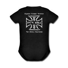 Baby FCS Kali West Coast Short Sleeve One Piece