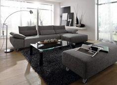 Polstermbel Von Musterring Graue Couch Ideen Frs Wohnzimmer Wohnzimmereinrichtung Livingroom Home