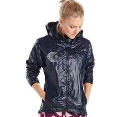 Raincoats For Women Closet Info: 6901347382 Black Raincoat, Raincoat Outfit, Raincoats For Women, Jackets For Women, Nylons, Stella Mccartney, Outdoor Fashion, Running Jacket, Sporty Girls