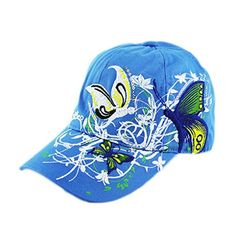 e6a41e194 Haoricu Baseball 2017 New Women Embroidered Baseball Cap Summer Style Lady  Fashion Hats (Blue)