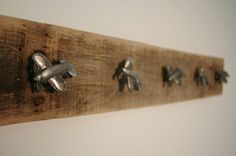Airplane board with 5 knobs for little boys by SplintersAndNails, $31.50