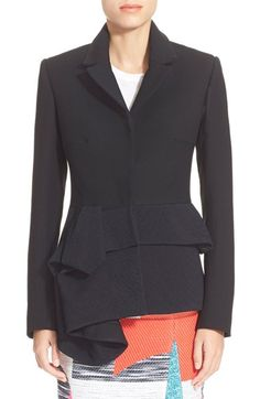Blazers Enthusiastic Black White Pink Womens Blazer Long Sleeve Lapel Cape Blazer Coat Casual Split Poncho Ol Jacket Cloak Coat Women Blazer Suit To Make One Feel At Ease And Energetic