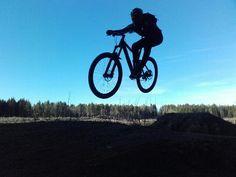 Shredding trails @Nøtterøy