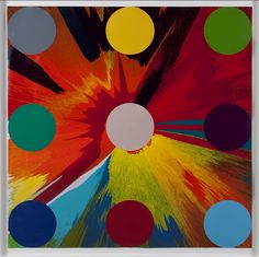 Bid now on Dots on Spin (Charity Spins for Victim) (diptych) by Damien Hirst. View a wide Variety of artworks by Damien Hirst, now available for sale on artnet Auctions. Damien Hirst, Texture Art, Color Themes, Painting Techniques, Abstract Expressionism, Spinning, Charity, Contemporary Art, Auction