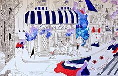 Amazing Illustration. Cooking With Love: Genji Shoppe