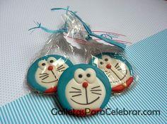 Galletas de Doraemon, el gato cósmico