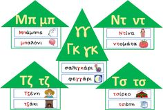 Κάθε μέρα... πρώτη!: Διψήφια σύμφωνα School Lessons, School Hacks, 3 Year Old Activities, Learn Greek, Greek Language, School Organization, Primary School, Speech Therapy, Special Education