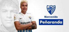 Adalberto Peñaranda jugará en el Málaga