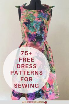 New Look Dress Patterns, Little Girl Dress Patterns, Simple Dress Pattern, Easy Sewing Patterns, Clothing Patterns, Fashion Sewing, Sewing Clothes, Simple Dresses, Making Ideas