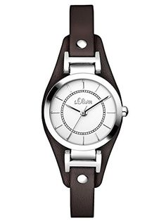 s.Oliver Damen-Armbanduhr Analog Quarz SO-2964-LQ