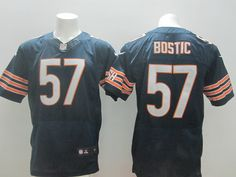 Men's Nike NFL Chicago Bears #57 Jon Bostic Blue Jersey.  If interested in them, pleases E-mail bettyjerseycheap@gmail.com