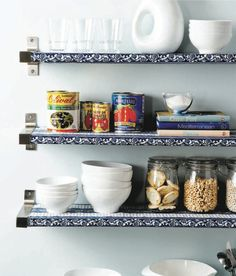 DIY shelf liners: Two easy steps