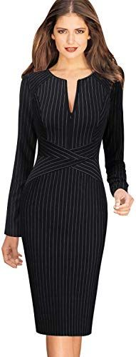Looking for VFSHOW Womens Slim Zipper Work Business Office Party Sheath Dress ? Check out our picks for the VFSHOW Womens Slim Zipper Work Business Office Party Sheath Dress from the popular stores - all in one. Office Dresses, Office Outfits, Stylish Outfits, Dresses For Work, Winter Outfits Women, Winter Dresses, Dress Outfits, Fashion Dresses, Suits For Women